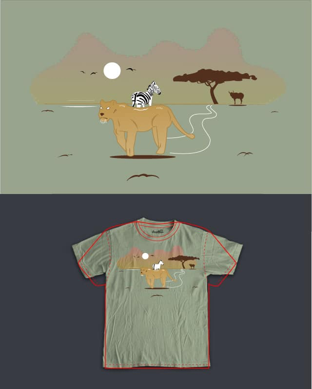 Walk on the Wild Side by hm087ster on Threadless