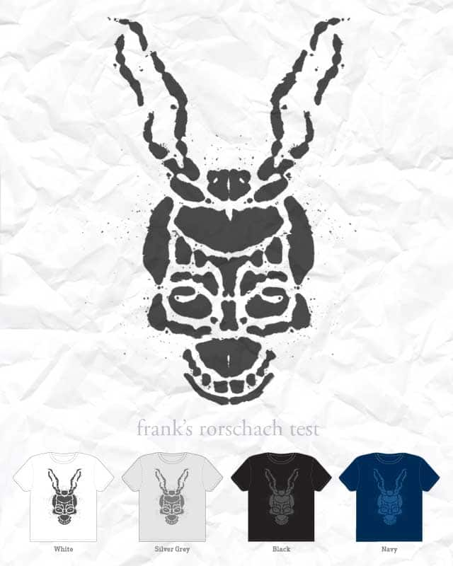 Frank says Rorschach by quick-brown-fox on Threadless