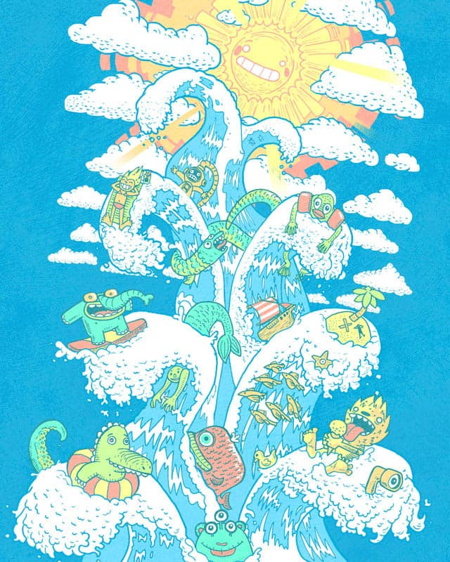 The Tower of Fable by queenmob on Threadless
