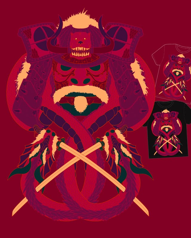 Kabuto Krossbones by electric_method on Threadless