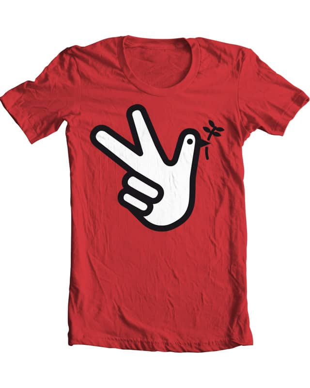 give peace a chance by Raid71 on Threadless