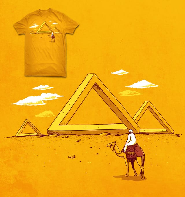 mystery pyramid by ben chen on Threadless