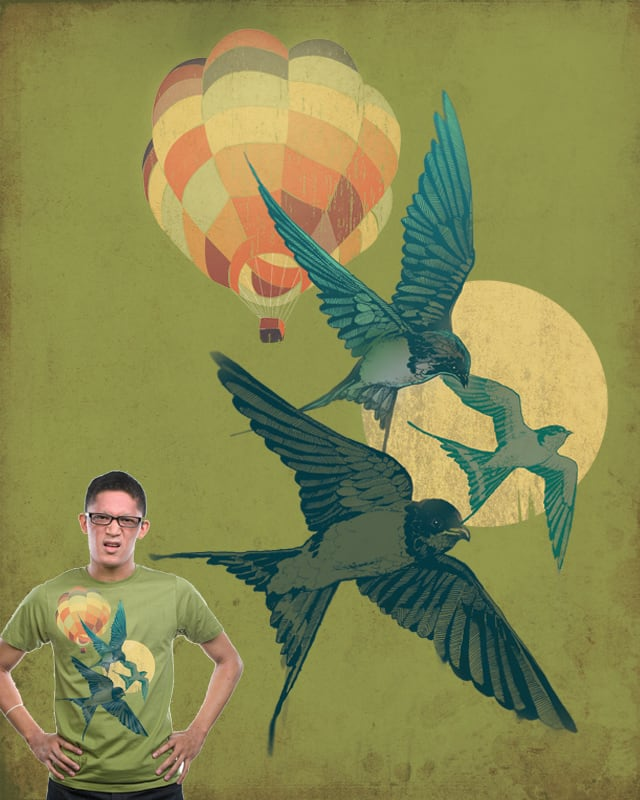 New Morning by blue sparrow on Threadless