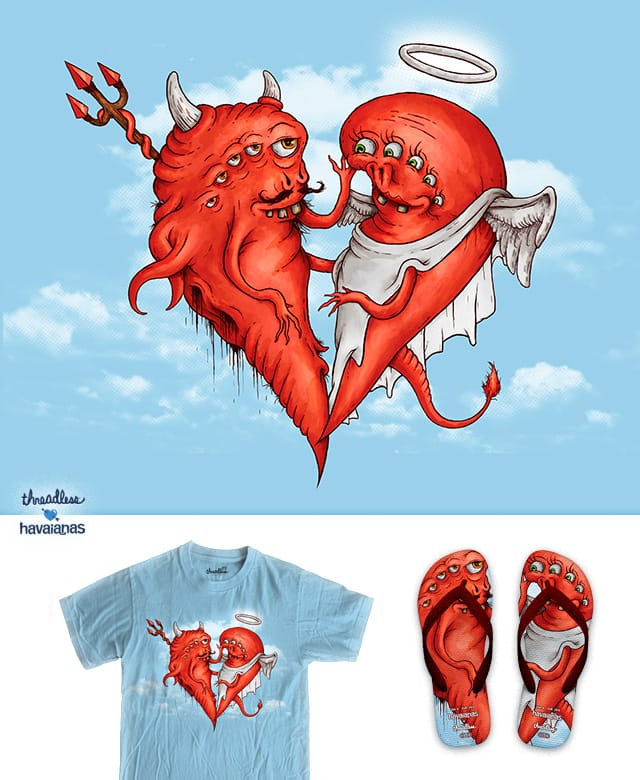 Love at fifth sight by almozline on Threadless
