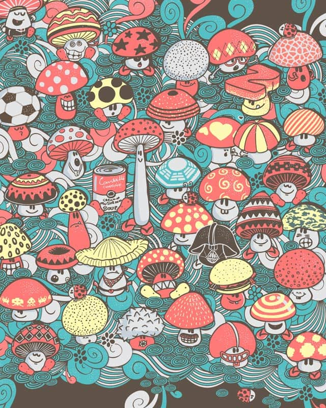The Fungus is Among Us by walmazan on Threadless