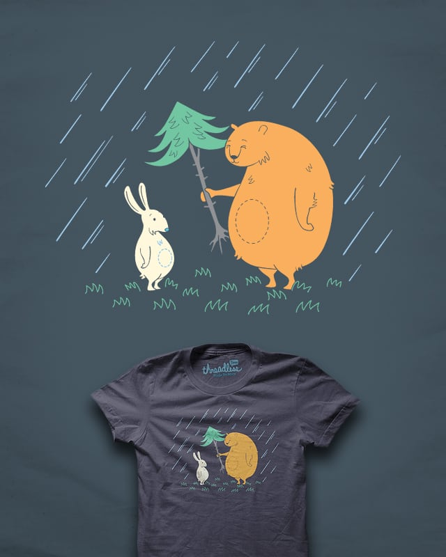 The Kindness of Mr Bear by heavyhand on Threadless