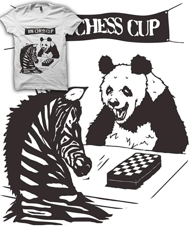 A BLACK & WHITE GAME by A.D.I.T on Threadless