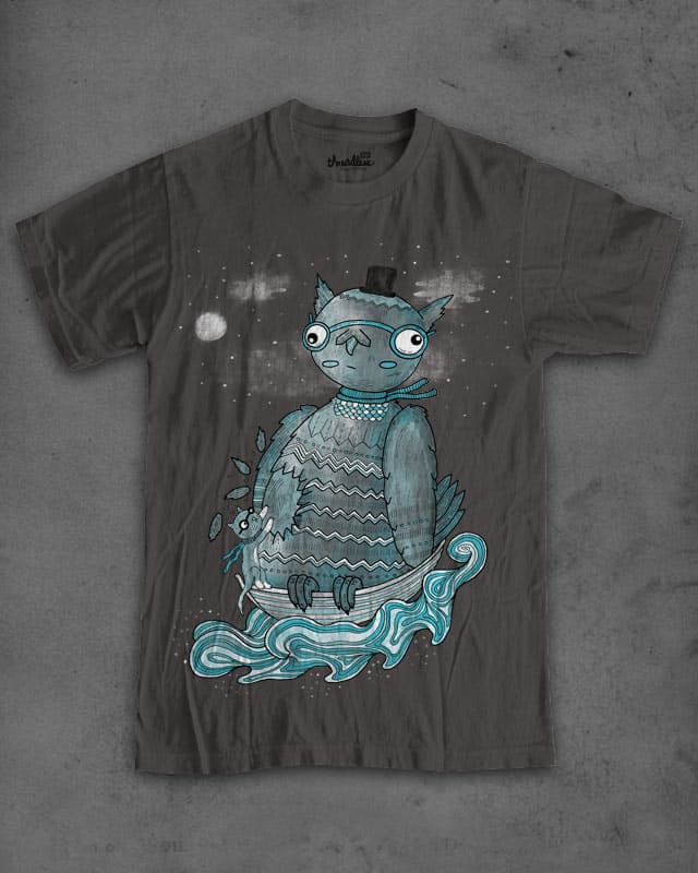 The owl and the pussycat by randyotter3000 on Threadless