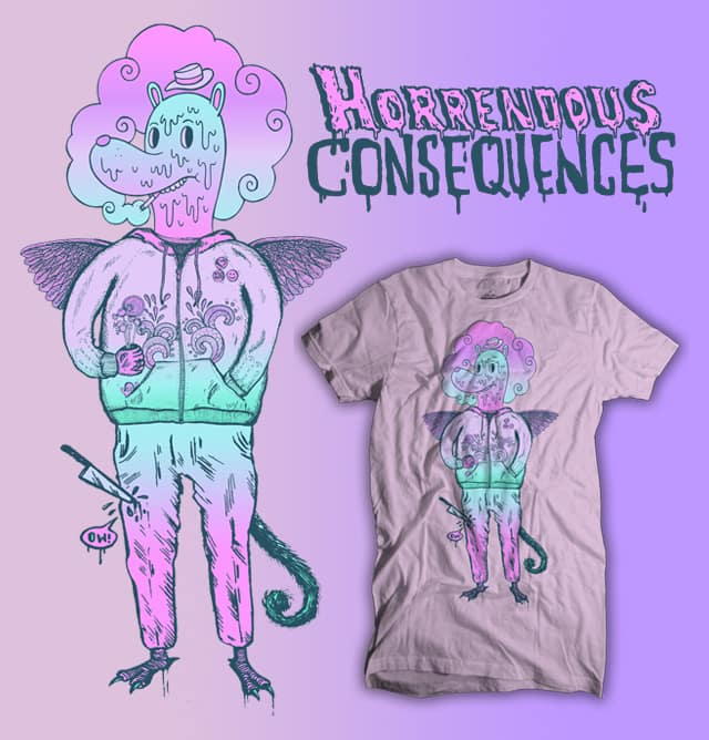 unfortunate consequence by sweet n sour on Threadless