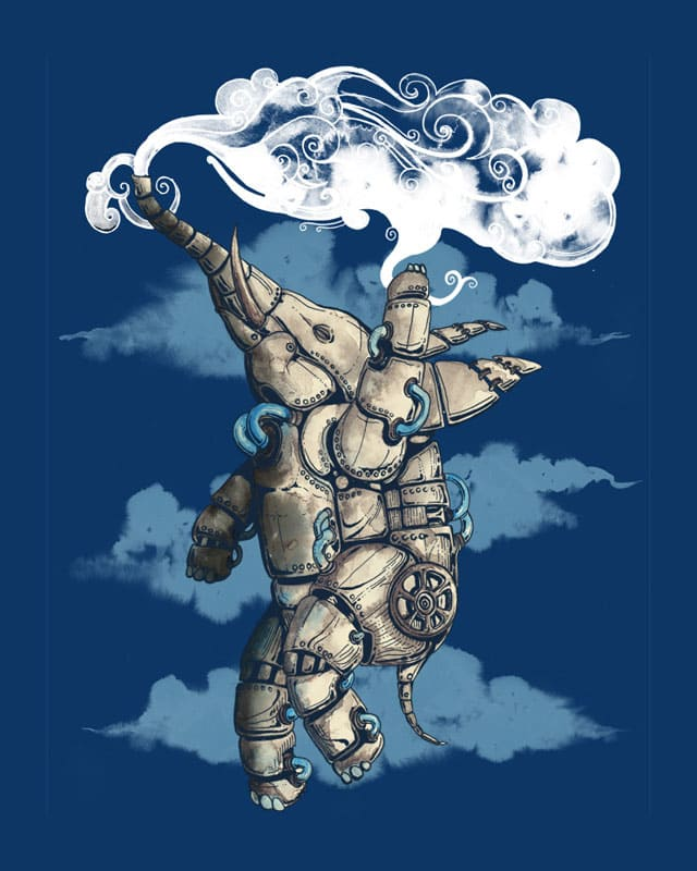 To fly a steam cloud by tolagunestro on Threadless
