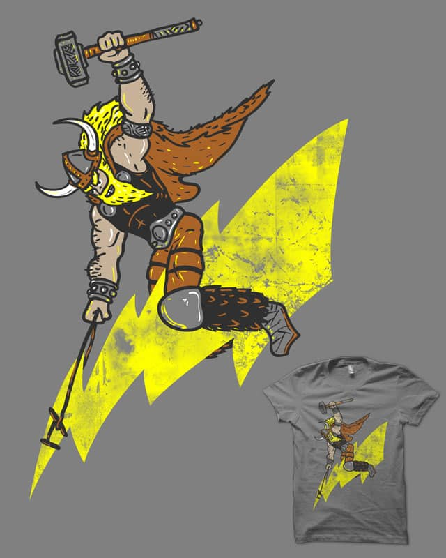 Ride the lightning by biotwist on Threadless