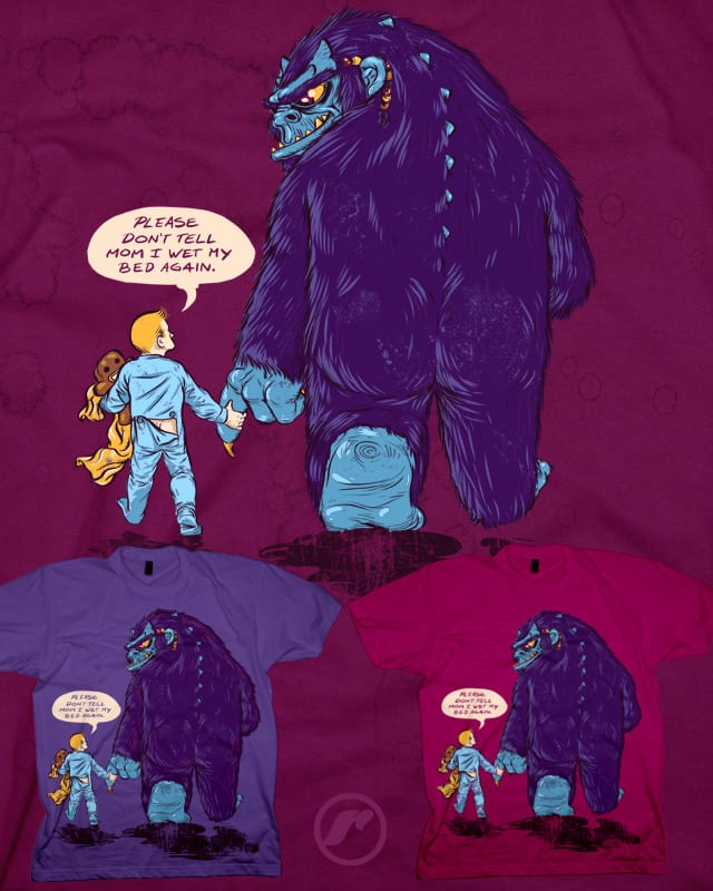 My Monster Friend by RazCity on Threadless