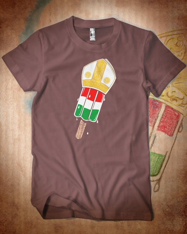 Popesicle. by kooky love on Threadless