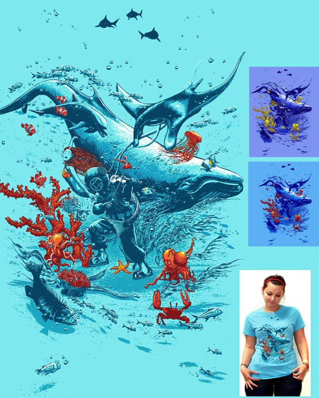 under the sea party by choubaka360 on Threadless