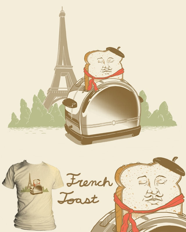 French Toast by jillustration on Threadless