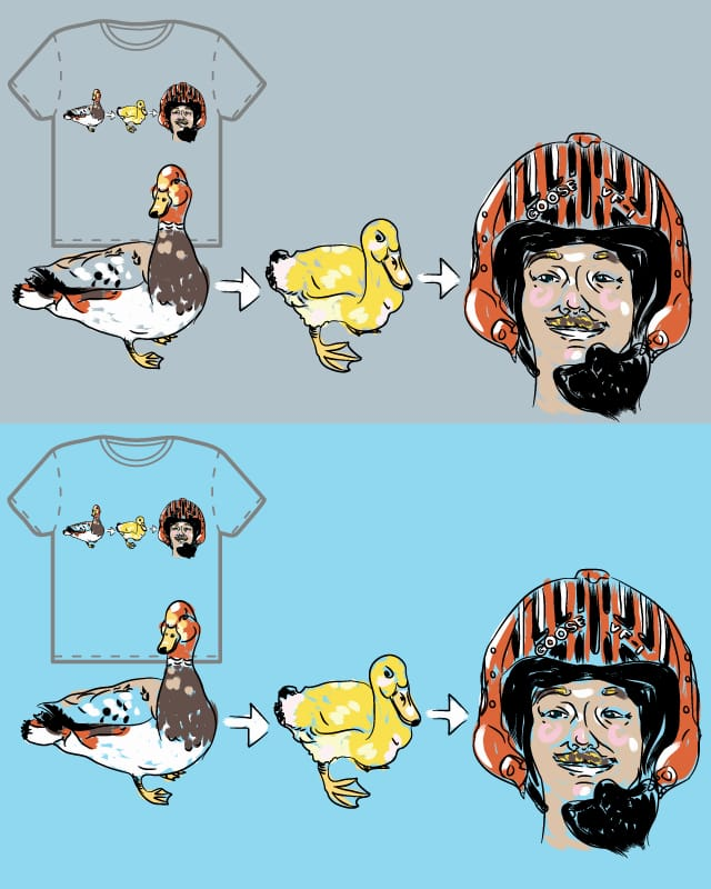Duck, Duck, .... by wullagaru on Threadless