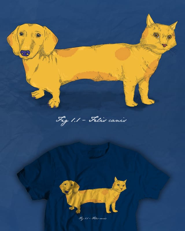 Felis canis by jeffreyg on Threadless