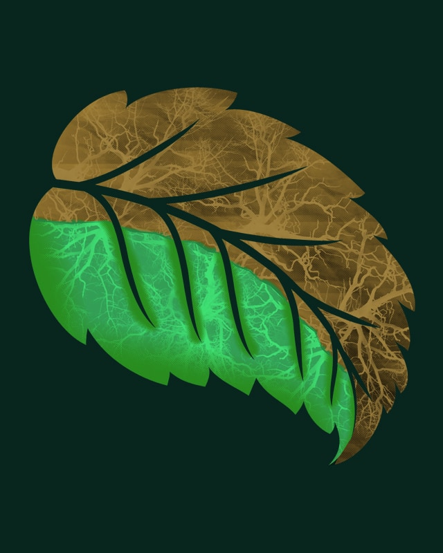 Drying Leaf. by addu on Threadless