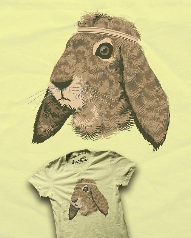 Hare Style by heavyhand on Threadless
