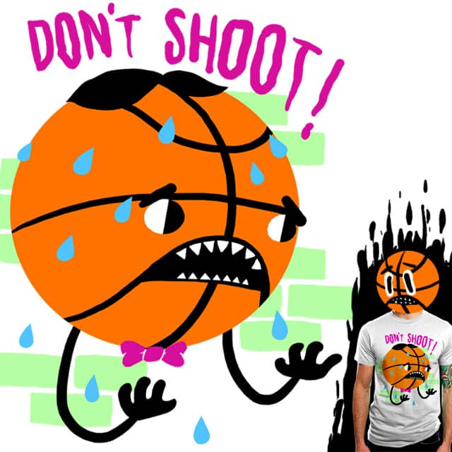Don't Shoot! by esskayeesee on Threadless
