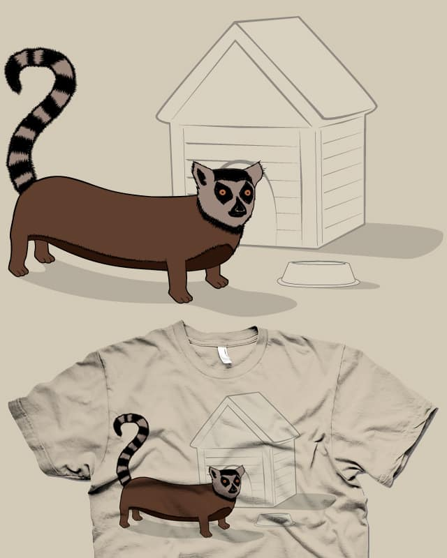 Lemur Dog by Resistance on Threadless