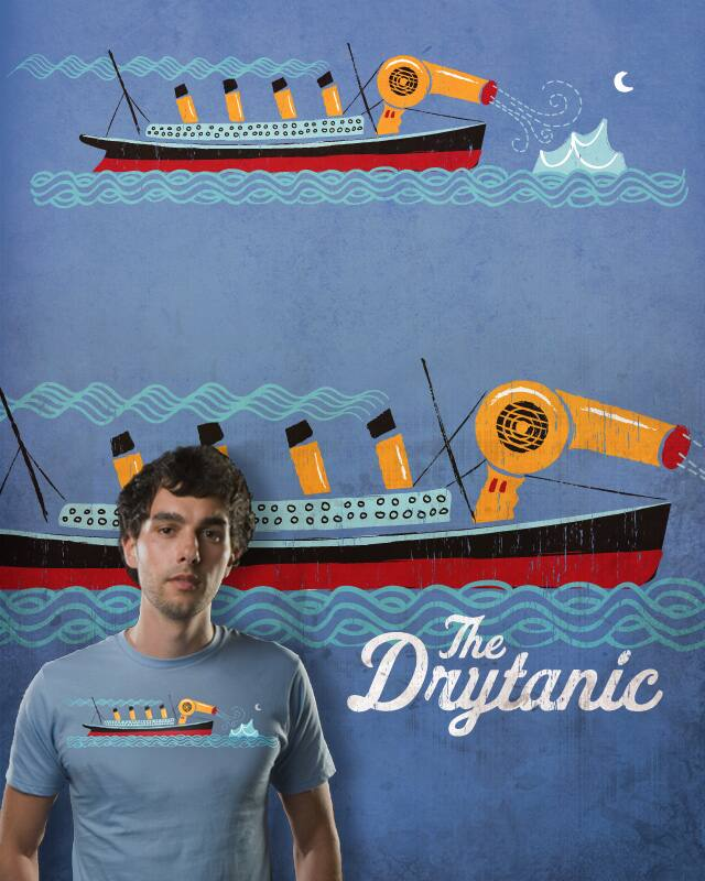 The Drytanic by blue sparrow on Threadless