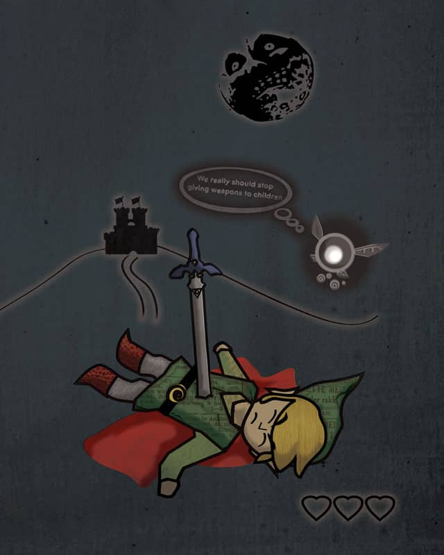 We're gonna need a new Link. by Haragos on Threadless