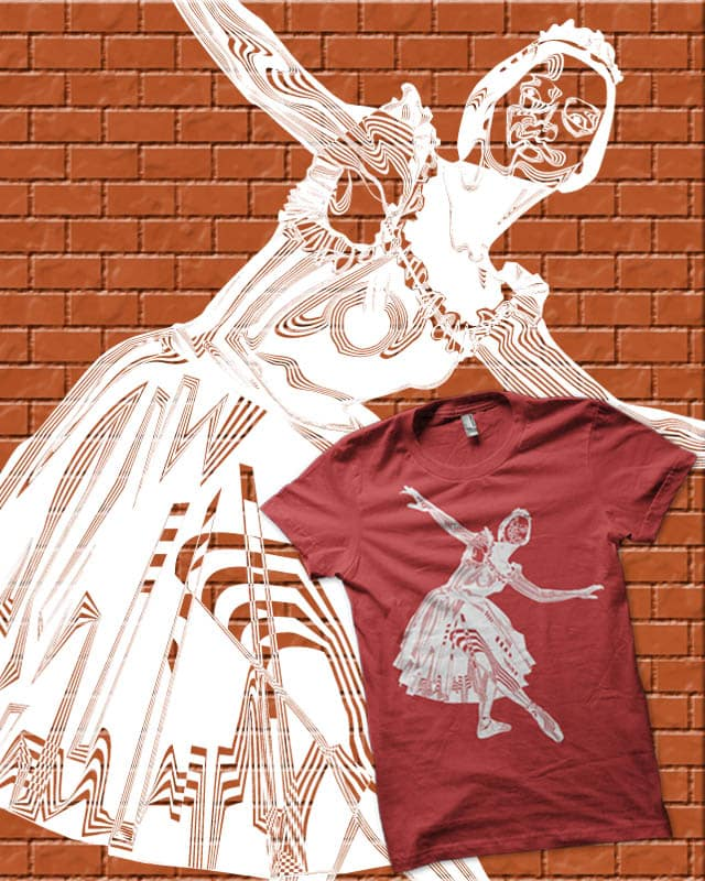 the ballet by edgarscratch on Threadless