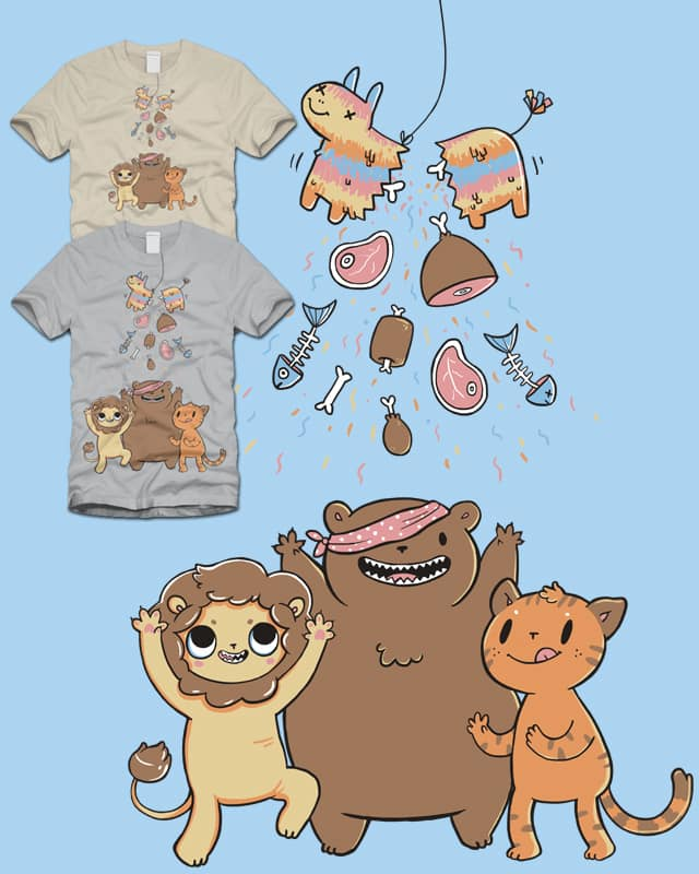 Carnivore Candy by limetree on Threadless