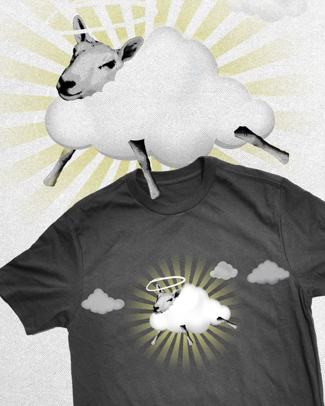 sheep go to heaven by jerbing33 on Threadless