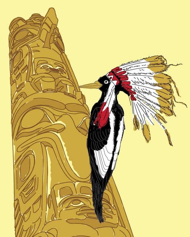 Indian Woodpecker by fuloprichard on Threadless