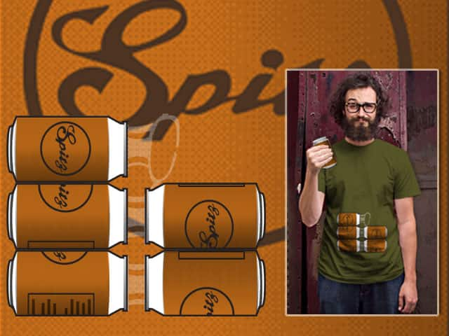 HAD a six pack... by plasticbrains on Threadless
