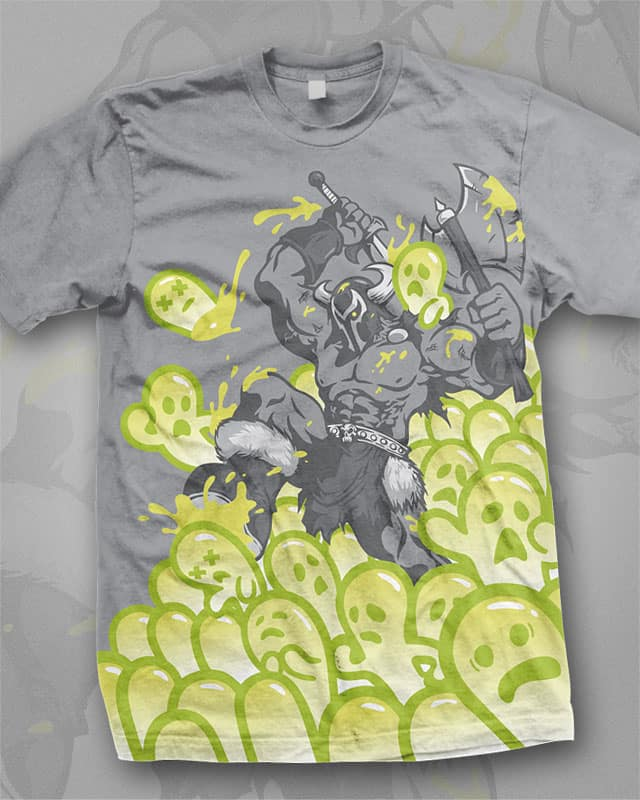 Mordrax The Terrible Battles The Cutesies! by Winter the artist on Threadless