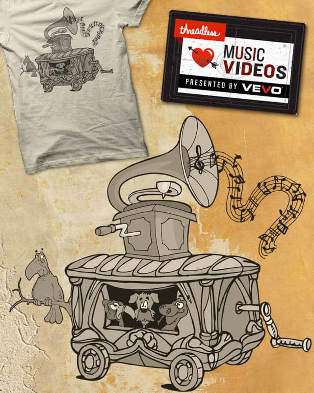 musicbox by edgarscratch on Threadless