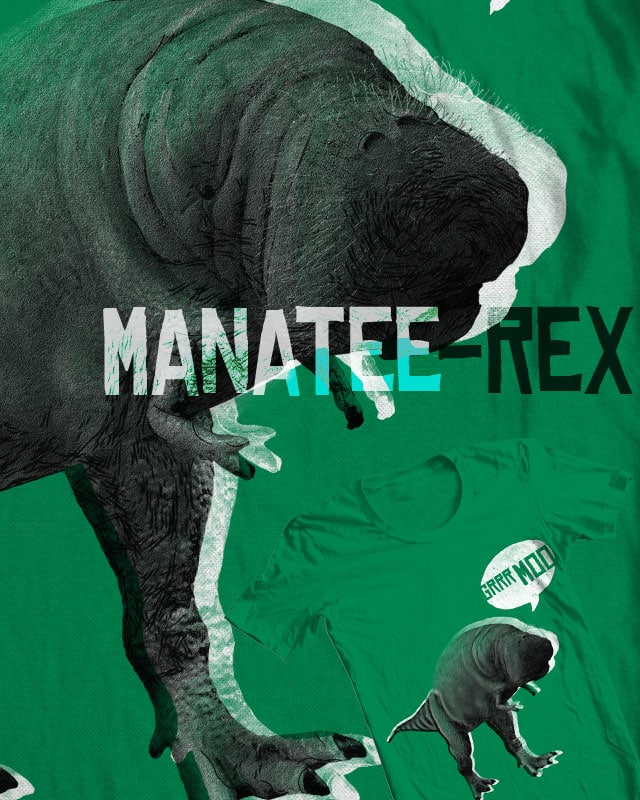 manatee-rex by jerbing33 on Threadless