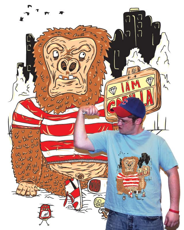 Iam Gorilla by Zen Studio on Threadless