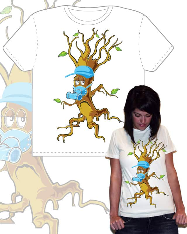 Treeman by Zen Studio on Threadless