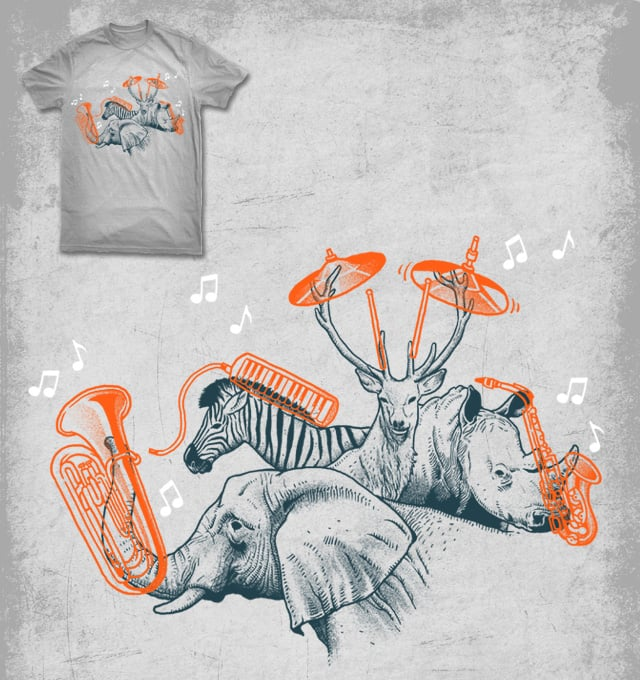 playing musical instruments by ben chen on Threadless
