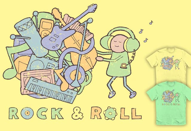 Rock & Roll by mj00 on Threadless