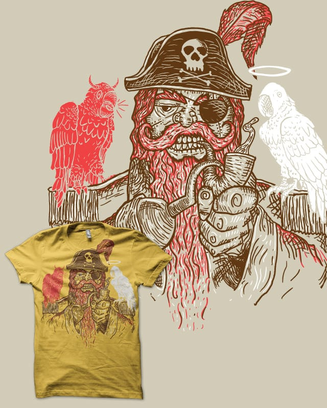 Firebeard's dilemma by biotwist on Threadless