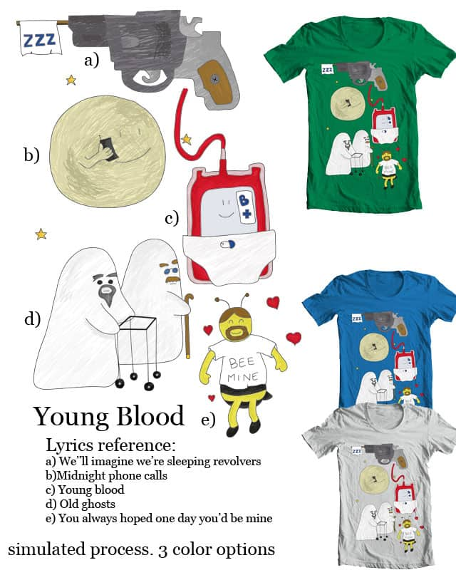 Young Blood by daboagain on Threadless