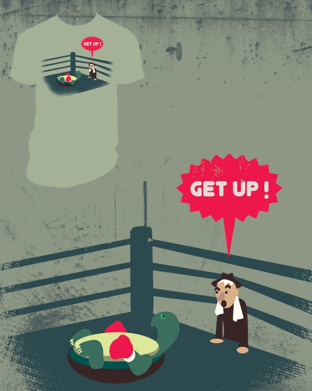 Get up! by 51brano on Threadless