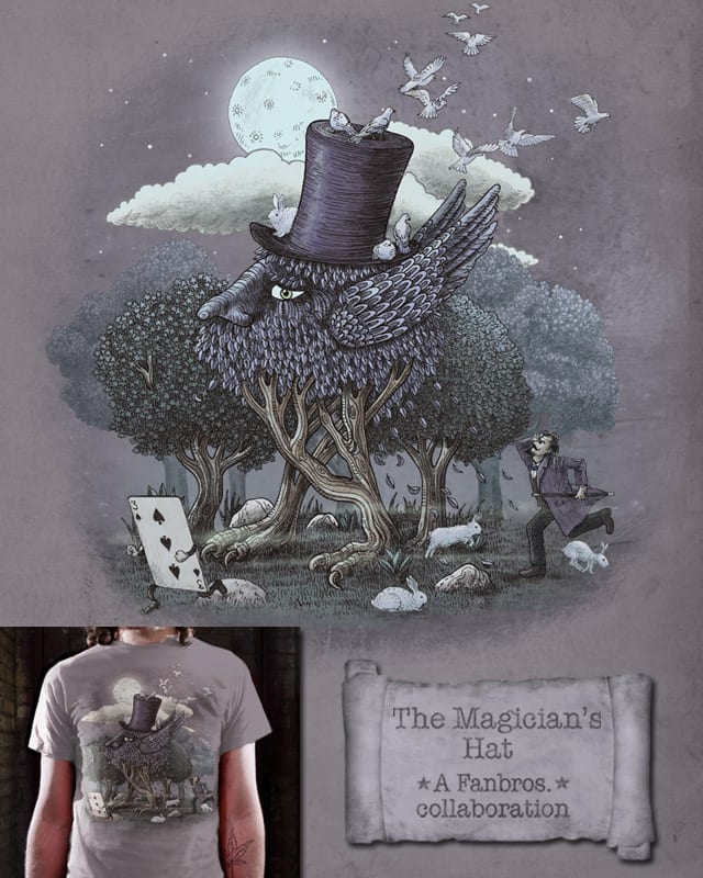 The Magician's Hat by Fan Bros. on Threadless