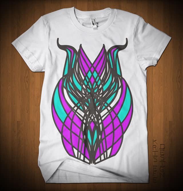Abstract Mask by krisefe on Threadless