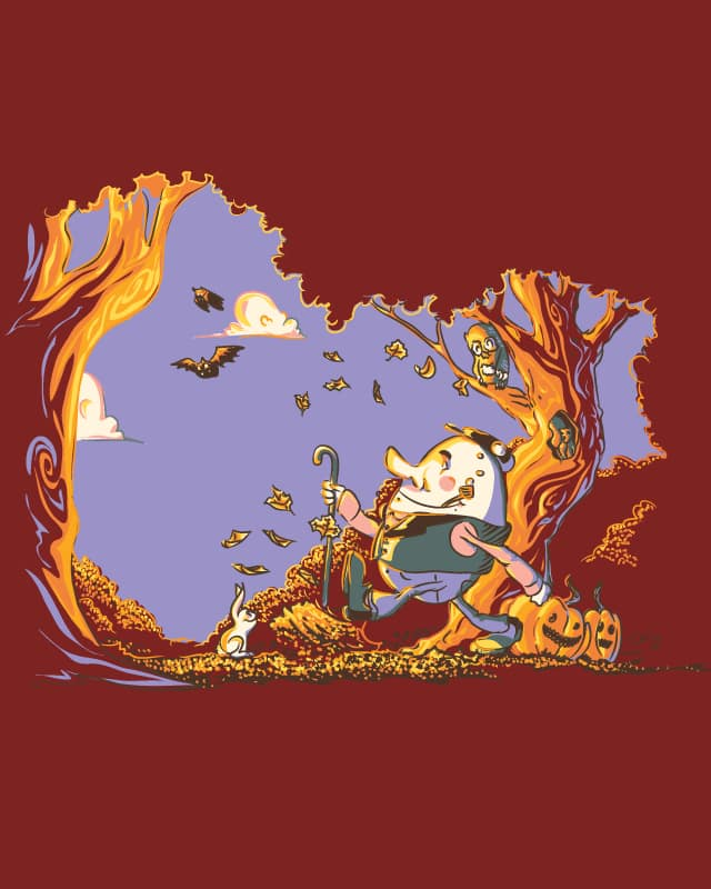 Humpty Dumpty had a GREAT Fall by wullagaru on Threadless