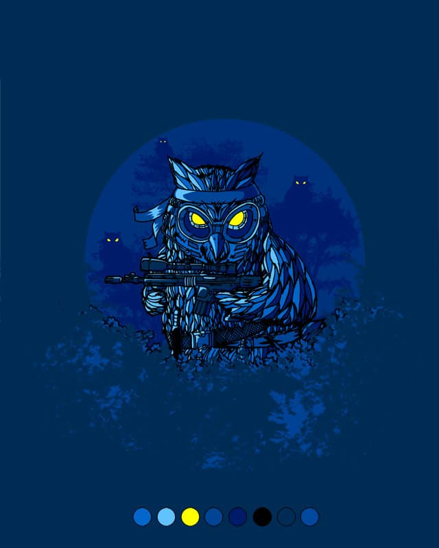 Owl Commando by ibeenthere on Threadless