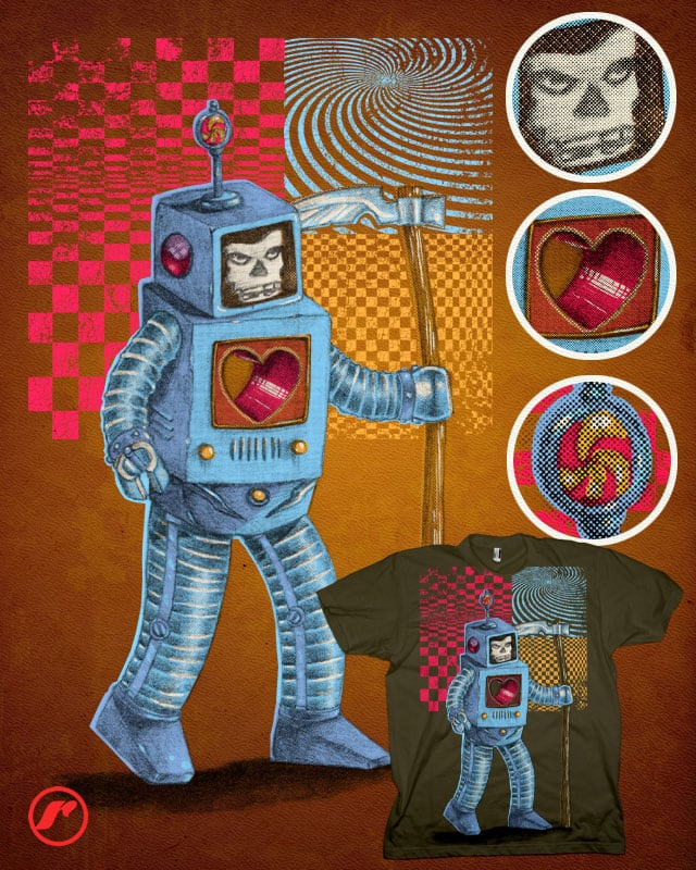 Deathbot 3000 v.2.0 by RazCity on Threadless
