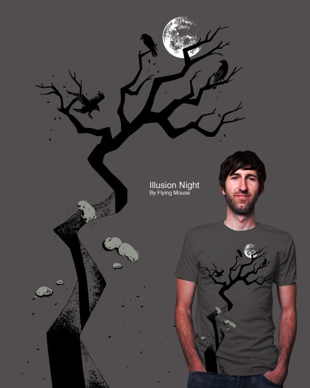 Illusion Night by Flying_Mouse on Threadless