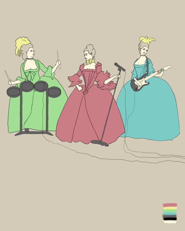 Baroque Band by kr1st1n on Threadless