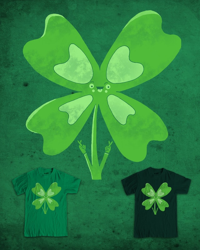 Feeling Lucky by randyotter3000 on Threadless